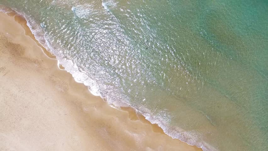 Aerial footage of a tropical beach | Shutterstock HD Video #15971944
