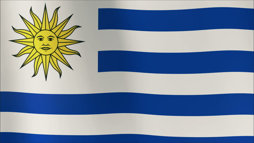 The National Flag Of Uruguay The Flag Was First Adopted By Law On - Uruguay flag