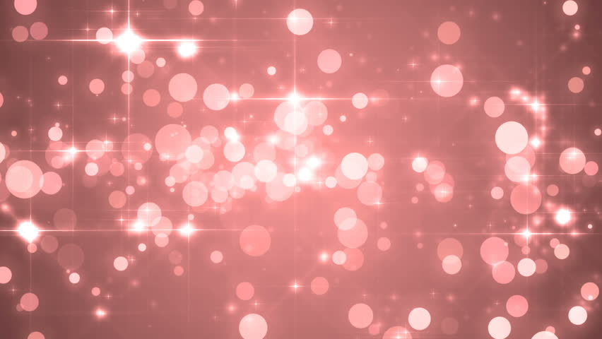 Hd0012Lights Red Bokeh Background Elegant Abstract Disco With Circles And Stars Christmas Animated Loop Able