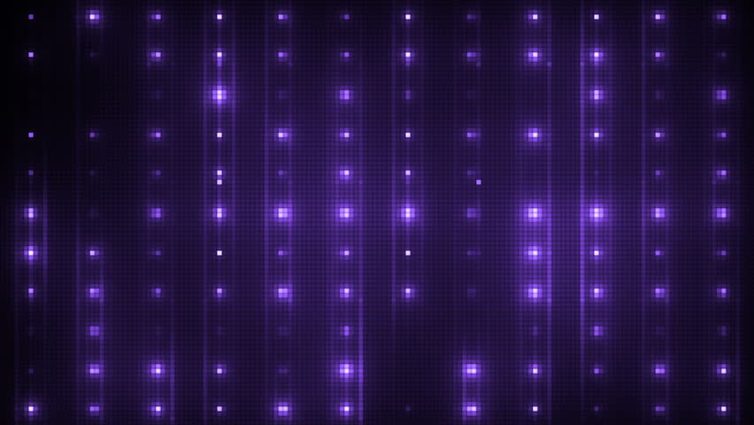 Vj Abstract Violet Bright Mosaic. Bright beautiful flood lights disco violet background mosaic. Seamless loop. #16100944