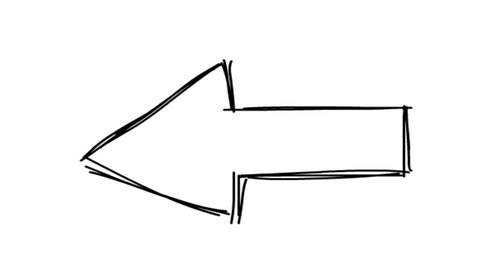 cartoon arrow sign. arrow symbol. doodle arrow. arrow animation. cartoon arrow animation. hand drawn arrow animation.