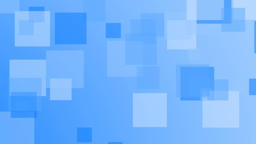 Blue squares background, infinite loop