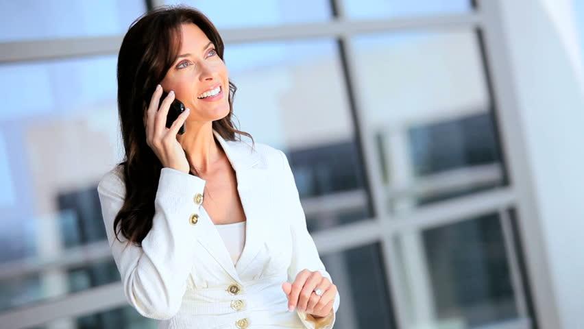 Businesswoman Receiving Good News on Smartphone | Shutterstock HD Video #1630534
