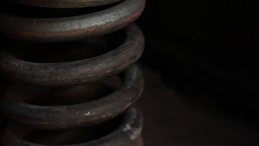 steel springs press checking