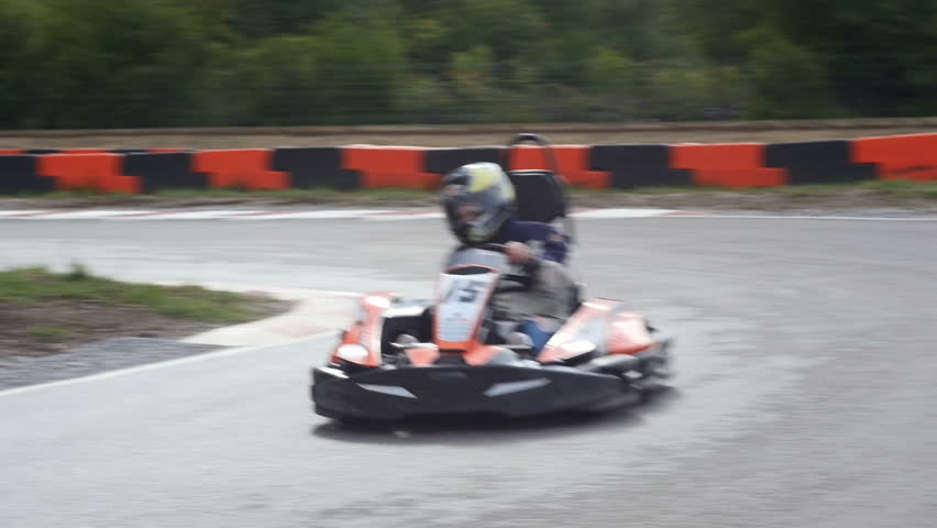 Go Kart Outdoor Race Stock Footage Video (100% Royalty-free) 16321804 |  Shutterstock