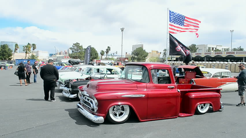 Rockabilly Car Stock Video Footage K And HD Video Clips - Viva las vegas car show