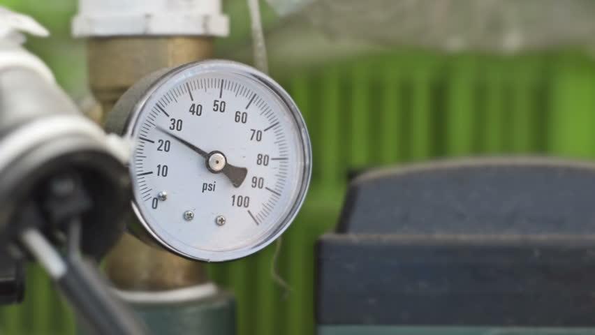 Gauge Pressure  Indicator Gauge Pressure  Stock Footage Video (100%  Royalty-free) 16444294   Shutterstock