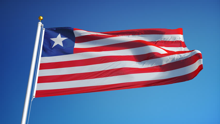 Liberia Flag Waving in Slow Stock Footage Video (100% Royalty-free)  16584124 | Shutterstock