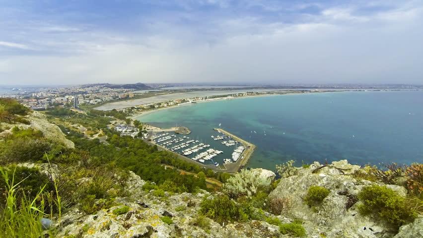Calamosca Beach (Spiaggia Di Calamosca) In Cagliari, Sardinia ...