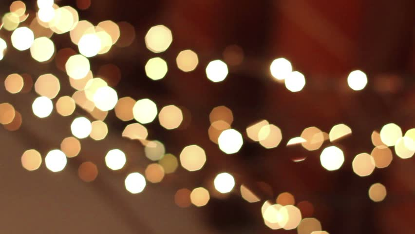 String Lights Stock Video Footage