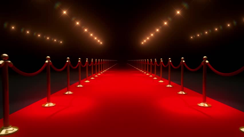 Red Carpet Paparazzi BackgroundsTextures Stock Footage