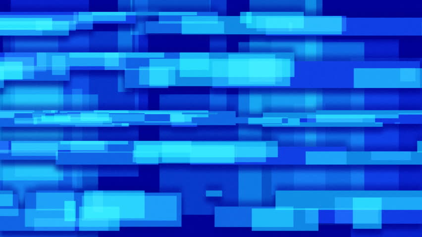 blue abstract loopable background rectangles