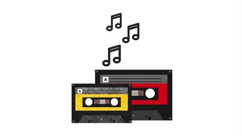 audio icon design, Video Animation