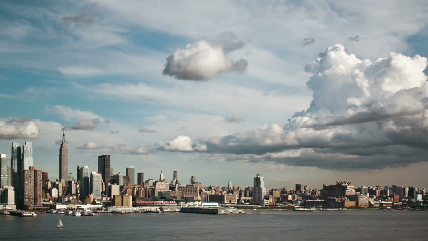 New york city skyline | Shutterstock HD Video #1692004