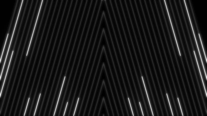 Staggered Ascending Light Beam Wall Pattern Loop