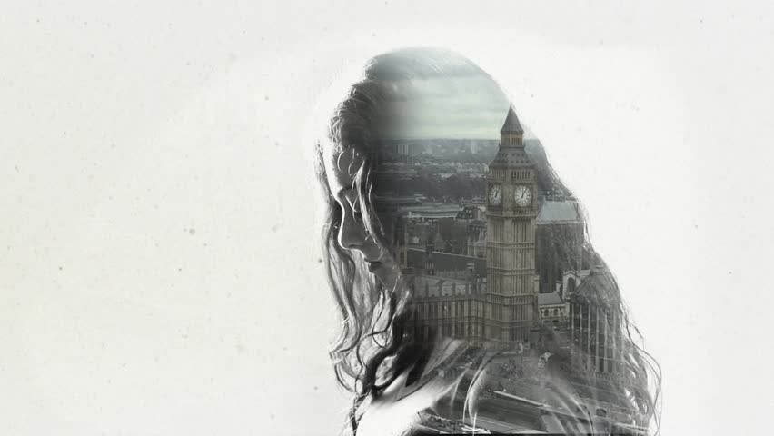 Double exposure - London | Shutterstock HD Video #17104234