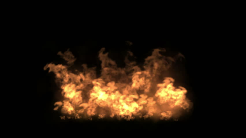 4k Fire particles fireworks hot flame background. 4998_4k