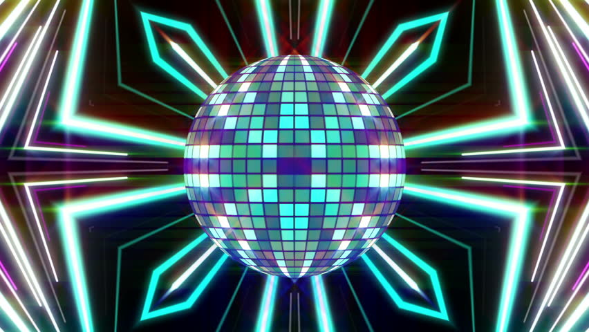 Disco Ball and Lines Animation Stock Footage Video (100% Royalty-free)  17423224 | Shutterstock