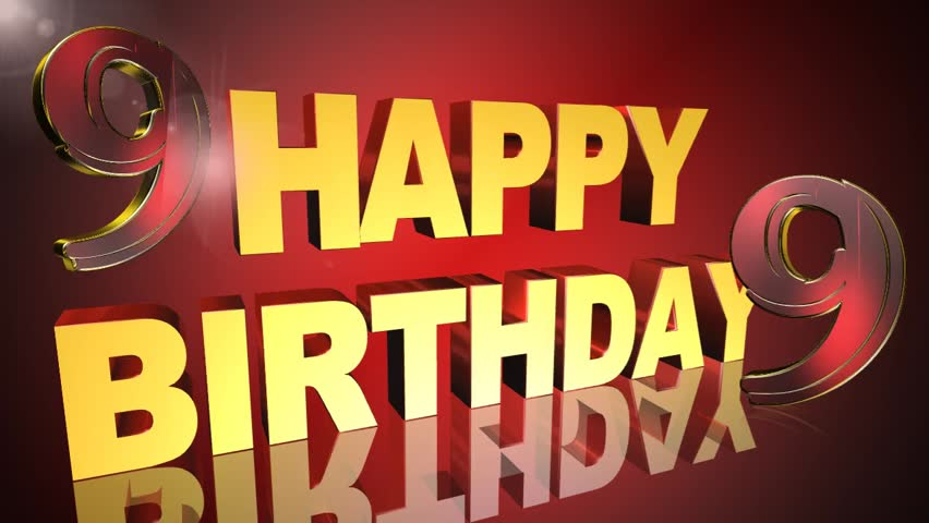 Happy Birthday Greeting Card Video Animation