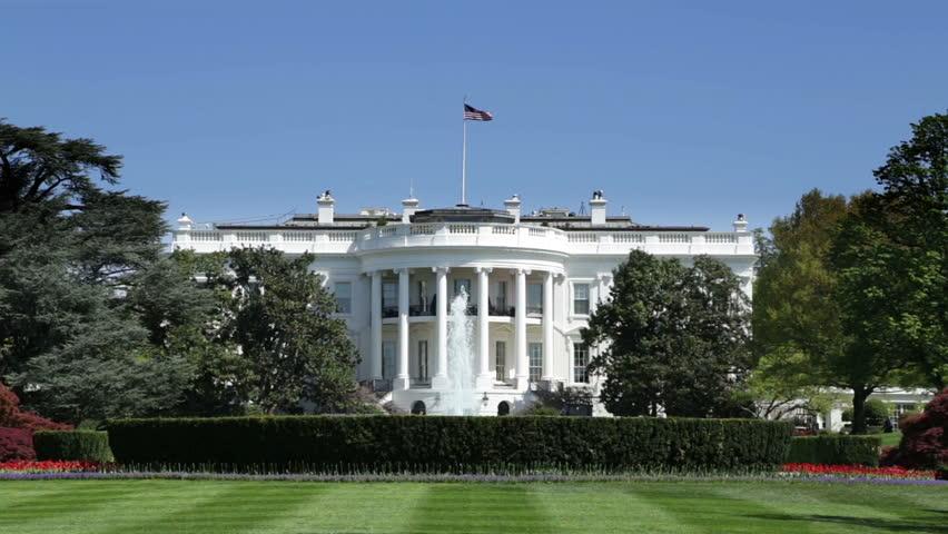 The White House on Pennsylvania Avenue in Washington DC.