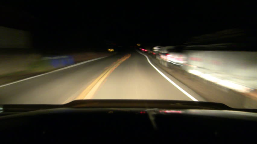 High Speed Drive at Night | Shutterstock HD Video #1764764