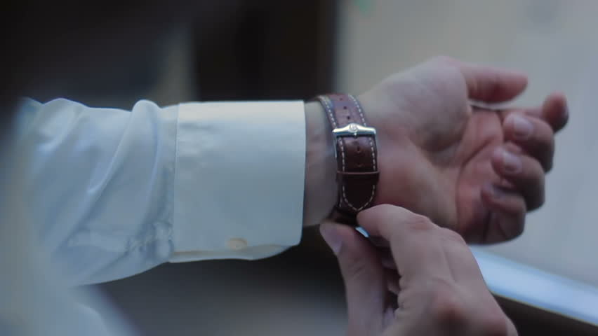 Men's Watches On the Arm | Shutterstock HD Video #17697694