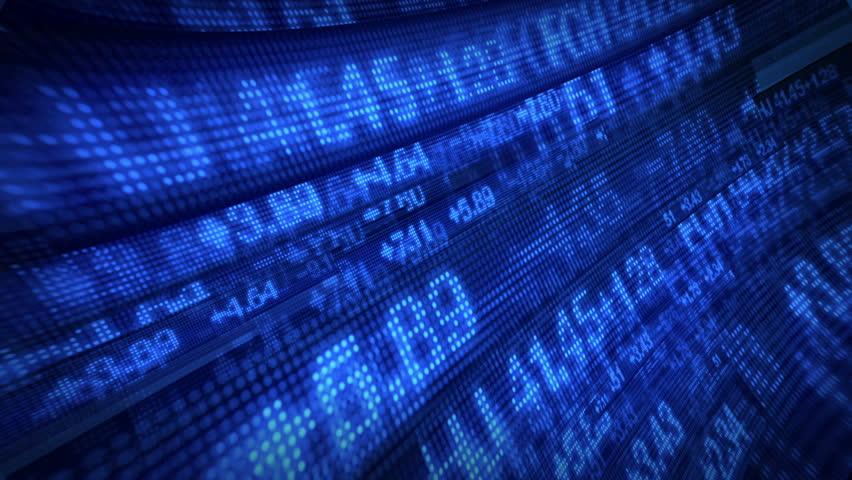 Stock Market Tickers Digital Data | Shutterstock HD Video #1770164