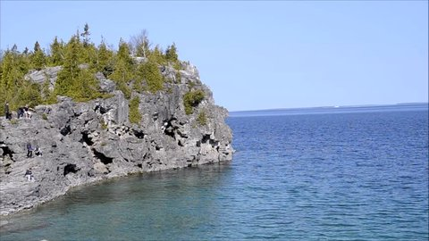 bruce peninsula national park view