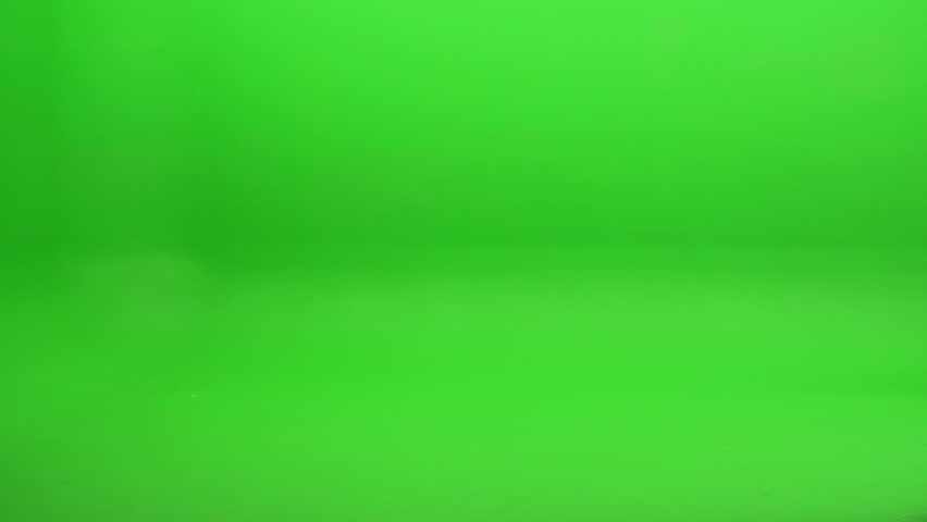Green screen shot. Foreground element of trash, leaves and other various debris blowing in the wind in the air and across the floor from opposite directions. Shot at 240 fps. | Shutterstock HD Video #17823094
