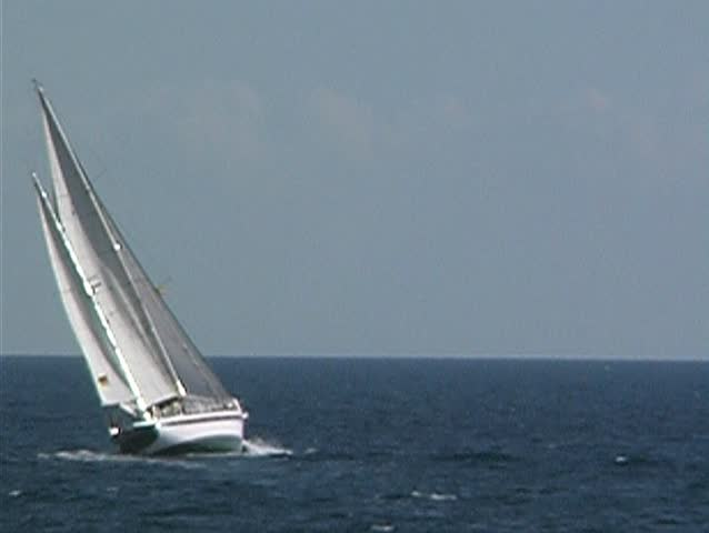Yacht at sea 4