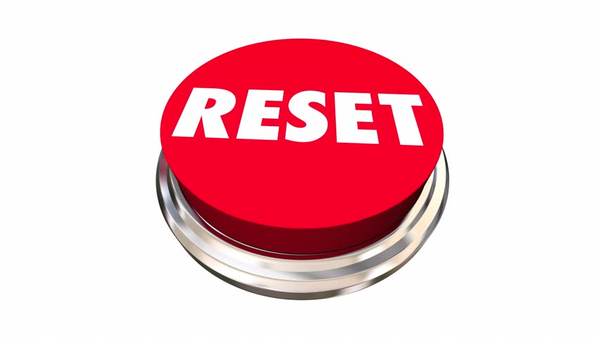 Reset Start Over Fresh Change New Beginning Button 3d Animation | Shutterstock HD Video #17896642