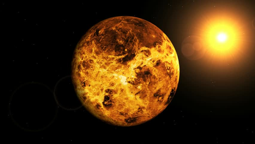 the background information of planet venus This daily eastward movement of the moon relative to the background stars and planets of the zodiac is due to the moon's motion in orbit around earth  and the planet venus,.