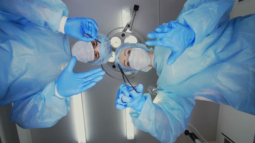 The First Person View. Surgery Team Works | Shutterstock HD Video #17945044