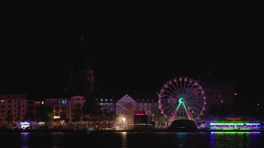 Funfair at Night #17973004