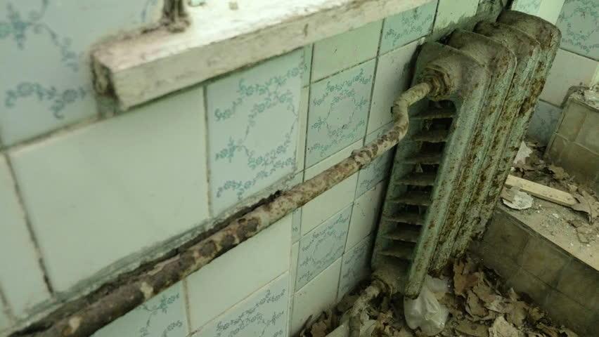 Radiator Voor Toilet : Radiator heating in the toilet stock footage video royalty