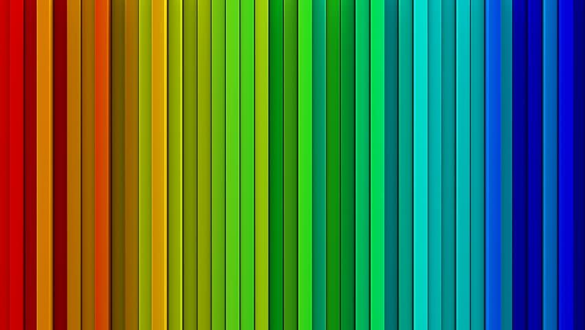 Blue Geometric Painting