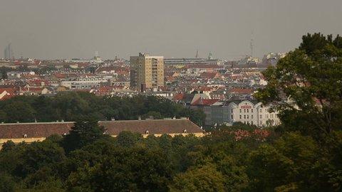 Austria Vienna summer day view