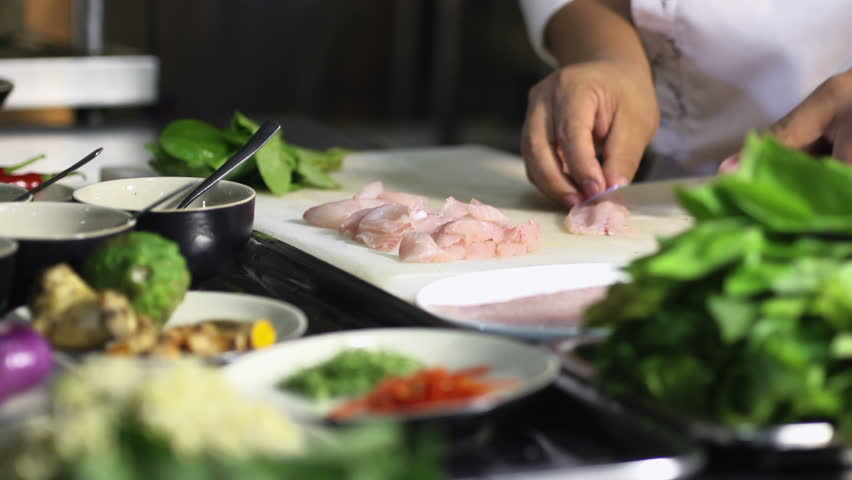 Restaurant Kitchen Hand kitchen hand stock footage video | shutterstock