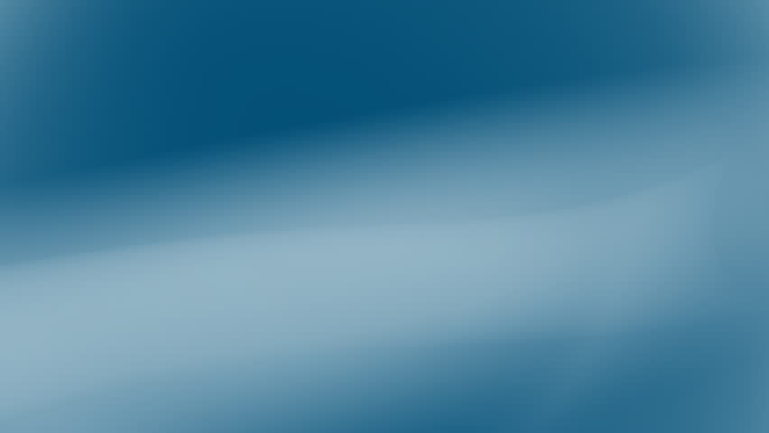 A looping white wave gently flows over a blue background. Use as a background.