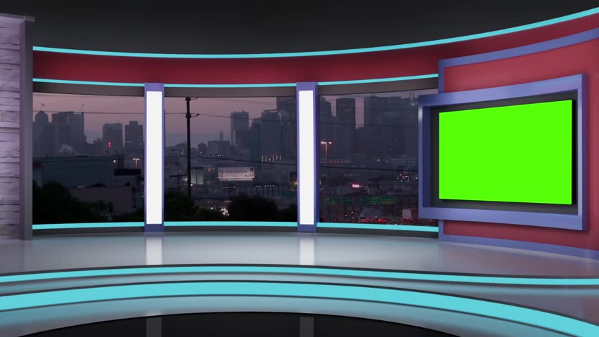 News Tv Studio Set - Stock Footage Video (100% Royalty-free) 18161434 |  Shutterstock
