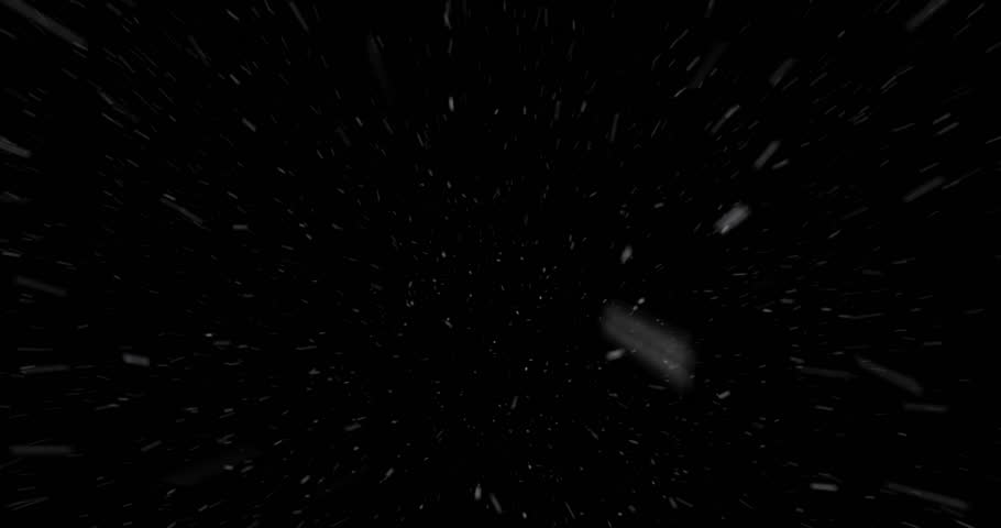 Looping windy snow, blowing away from camera. Use with any editing or FX software with transfer/blending modes. Just set the layer to Screen, or use a Luma Matte, to create an instant snowy scene.
