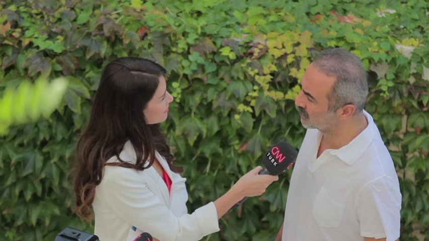 Turkish actor and director Yilmaz Erdogan interview with CNN Turk Channel