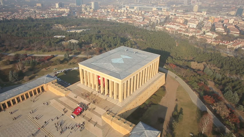 Anitkabir, memorial tomb, is the mausoleum of Mustafa Kemal Ataturk, the leader of the Turkish War of Independence and the founder and first President of the Republic of Turkey, located in Ankara.