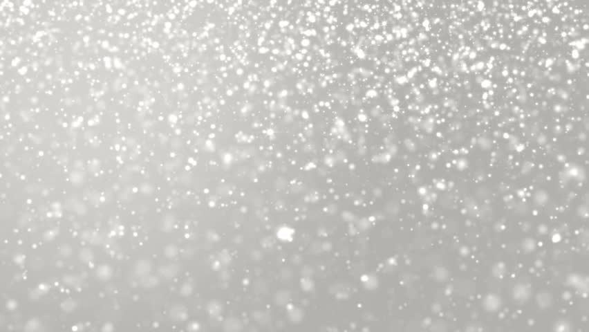 Elegant silver abstract with snowflakes.Christmas animated grey background. Background white glitter - winter theme. Seamless loop. | Shutterstock HD Video #18261589