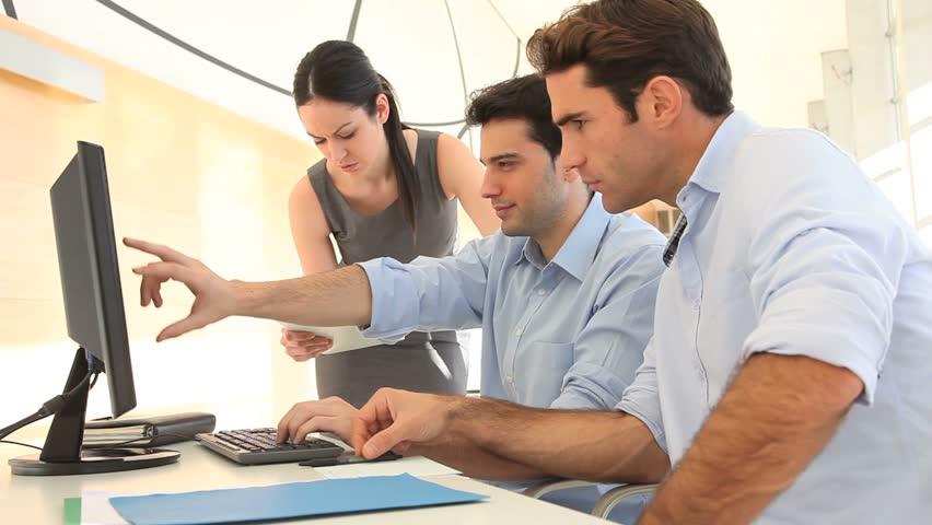 Sales people meeting in office | Shutterstock HD Video #1835644
