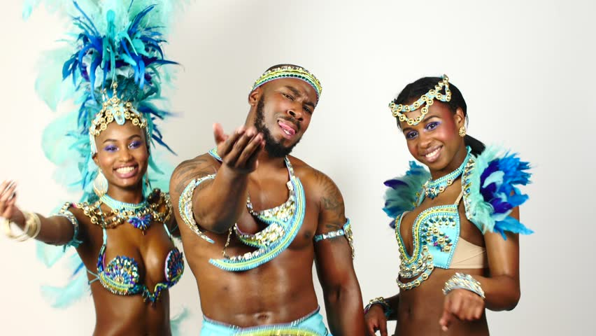 Group of Young Samba Dancers Stock Footage Video (100% Royalty-free)  18380554 | Shutterstock