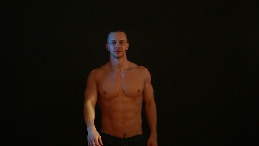 Strip tease video clip
