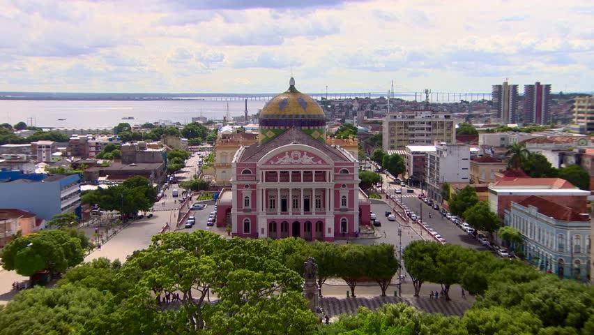 Opera House Amazon Theatre (Teatro Amazonas), Manaus, Brazil, 2015