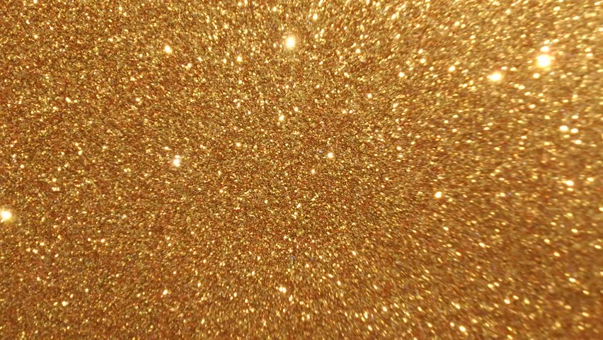 Moving Golden Glitter Lights