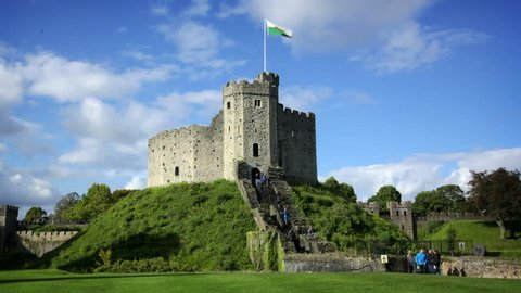 Cardiff Castle, Wales, UK